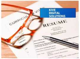 Professional Resume/CV Writing Services with FREE Linkedin Profile Edit & Cover Letter Included