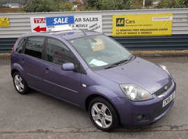 2009/58 Ford Fiesta 1.25 Zetec finished in Muave/Purple Metallic. 55,146 miles