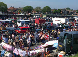 Redcar Racecourse Sunday Afternoon Car Boot