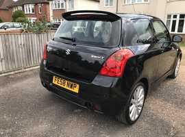 Suzuki Swift, 2008 (58) Black Hatchback, Manual Petrol, 86,129 miles located in Bedford MK41 area