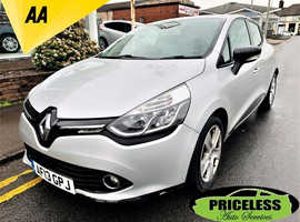 Renault Clio, 2013 (13) Silver Hatchback, Manual Petrol, 61,825 miles