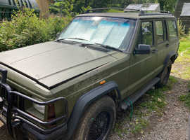 Jeep CHEROKEE LIMITED AUTO, 1993 (K) Green Estate, Automatic Petrol, 116,000 miles