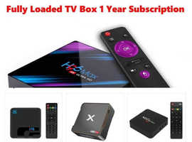Fully Loaded Android TV BOX's Movies Live TV Sport