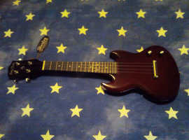 SOLID ELECTRIC UKELELE AND AMPLIFIER (BOTH BRAND NEW)