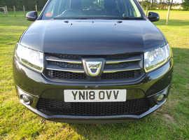 Dacia LOGAN MCV, 2018 (18) Black Estate, Manual Diesel, 24,000 miles