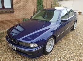 BMW 5 Series, 1998 (S) Blue Saloon, Automatic Petrol, 200,000 miles
