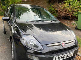 Fiat Punto Evo, 2010 (60) Black Hatchback, Manual Petrol, 87,000 miles
