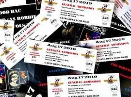 BLOATED MONKEY FESTIVAL , WHITWORTH PARK, DARLEY DALE AUG 17 2019