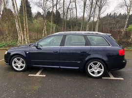 Audi A4, 2005 (05) Blue Estate, Manual Diesel,
