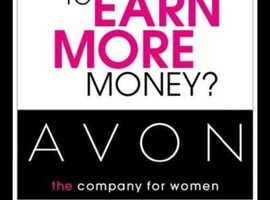 Work from home with no up front costs be an Avon Rep