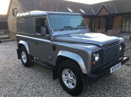 Land Rover DEFENDER 90, 2011 (61) Grey 4x4, Manual Diesel, 72,000 miles