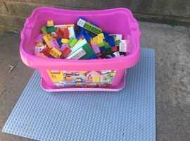 Pink Lego box