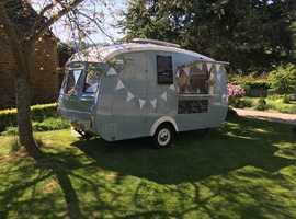 Beautiful vintage catering caravan