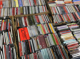 House clearance of large collections of Classical Music Cd's/Records