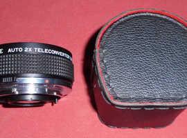 Foto Care 2X Auto Teleconverter Lens In Case