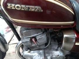 Honda cd200t 1980 years MOT. Very low mileage.