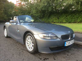 BMW Z SERIES, 2007 (57) Grey Convertible, Manual Petrol, 99,983 miles