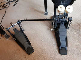 Double drum pedal