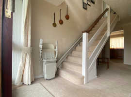 Stannah Stairlift 600 fitted with 12 months warrenty