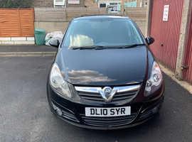 Vauxhall Corsa, 2010 (10) Black Hatchback, Manual Petrol, 133,881 miles