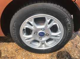 Ford Fiesta, 2013 (13) Orange Hatchback, Manual Diesel, 100,000 miles, MOT Oct 2019