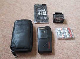 Olympus Pearlcorder S914 Microcassette Recorder Black