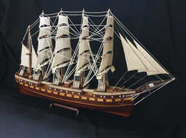Beautiful Sail Boat and Wooden Knot Box