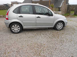 Citroen C3 Rhythm, 2008 (58) 1.6 HDI diesel , Silver , only £30 annual road tax.