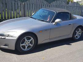 Honda S2000, 2000 (W) silver convertible, Manual Petrol, 140,000 miles