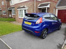 Ford Fiesta, 2017 (17) Blue Hatchback, Manual Petrol, 11,950 miles