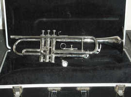 High Quality Lazer LB-325N Bb Trumpet (Adjustable Third Valve Slide)+Case+Mouthpiece