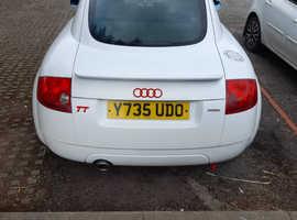 Audi TT, 2001 (Y) White Coupe, Manual Petrol, 124,182 miles