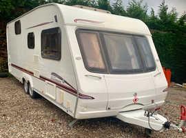 Swift 6 berth touring caravan twin axle 2006/2007 model