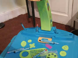 Child's projector drawing desk top