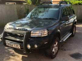 Land Rover Freelander, 2003 (52) Grey Estate, Manual Diesel, 235,990 miles