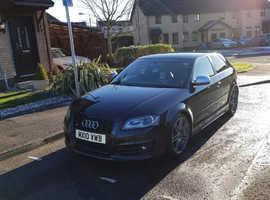 Audi S3, 2010 (10) Black hatchback, Automatic Petrol, 80586 miles