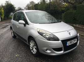 Renault Scenic 1.6 I MUSIC 2010 (10) Silver MPV, Manual Petrol, 99,000 miles ONE OWNER FROM NEW HPI CLEAR