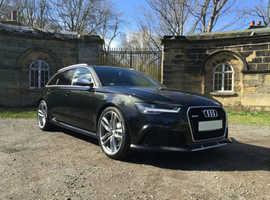Audi RS6 TFSI V8 QUATTRO AUTO, 2015 (15) Black Estate, Automatic Petrol, 40,000 miles