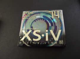 "TDK XS-iv design line ""BRAIN STORM"" New recordable Minidisc"