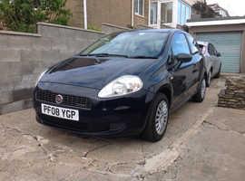Fiat Grande Punto, 2008 (08) Blue Hatchback, Manual Diesel, 112,600 miles