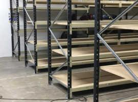 Heavy Duty Long span shelving