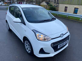 Hyundai i10, 2018 (68) White Hatchback, Manual Petrol, 36,000 miles