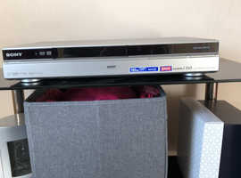 sony  DVD PLAYER RECORDER MODEL RDR HXD890