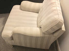 NEXT ARMCHAIR AND FOOTSTOOL