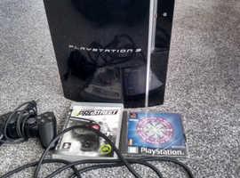 PlayStation 3 80gb 2 games £20 !!!!