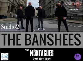 New Liverpool Band 'The Banshees' Live in Studio 2, Parr Street, Liverpool. 29th November Plus Special Guests!