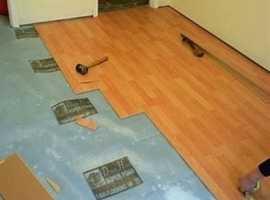 Floor fitter Laminate and Vinyl