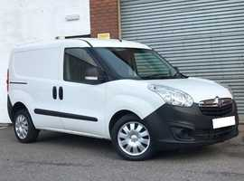 Vauxhall Combo 1.3 CDTI 90 EcoFlex 2300 S/S Crewcab Van Very Scarce Crewcab 5 Seater Van with 6 Doors
