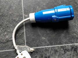 Caravan 3-pin adaptor