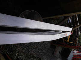 Aluminium folding pet ramp